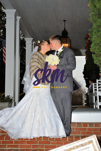 The wedding of Stefanie Meyerson & Clayton Beard.