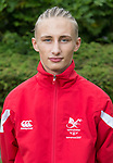 James Probert<br /> <br /> Team Wales team photo prior to leaving for the Bahamas 2017 Youth commonwealth games - Sport Wales National centre - Sophia Gardens  - Saturday 15th July 2017 - Wales <br /> <br /> &copy;www.Sportingwales.com - Please Credit: Ian Cook - Sportingwales