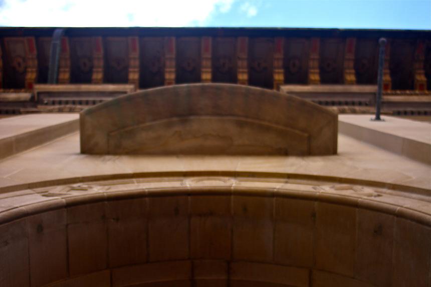 Old miami downtown detail