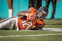 MIAMI, FL, 14.10.2018 – MIAMI DOLPHINS-CHICAGO BEARS – Jogador Robinson II do Chicago Bears, durante partida válida pela semana 6 da temporada regular da NFL, no Hard Rock Stadium, na tarde deste sábado (14). (Foto: Jayson Braga / Brazil Photo Press)