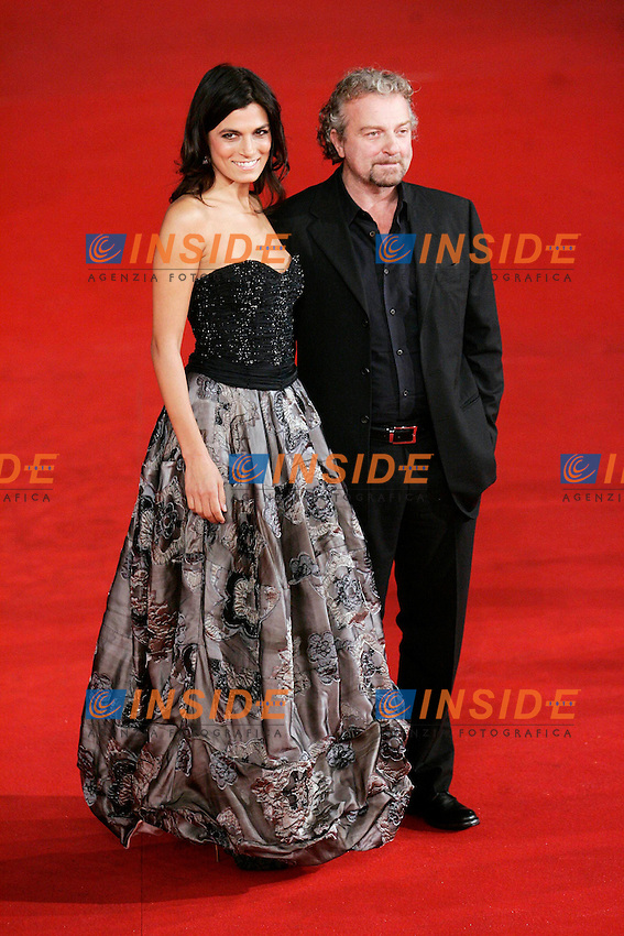 Valeria Solarino e Giovanni Veronesi.Roma 27/10/2011 Festival Internazionale del Film di Roma. International Rome Film Fest. The Lady Red Carpet..Photo Samantha Zucchi Insidefoto