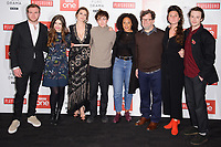 Joe Bannister, Philippa Coulthard, Hayley Atwell, Alex Lawther, Rozalind Eleazar, Kenneth Longergan, Bessie Carter &amp; Joe Quinn at the &quot;Howard's End&quot; screening held at the BFI NFT South Bank, London, UK. <br /> 01 November  2017<br /> Picture: Steve Vas/Featureflash/SilverHub 0208 004 5359 sales@silverhubmedia.com