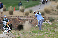 JB Holmes (USA) on the 3rd tee during the 3rd round of the Waste Management Phoenix Open, TPC Scottsdale, Scottsdale, Arisona, USA. 02/02/2019.<br /> Picture Fran Caffrey / Golffile.ie<br /> <br /> All photo usage must carry mandatory copyright credit (&copy; Golffile | Fran Caffrey)