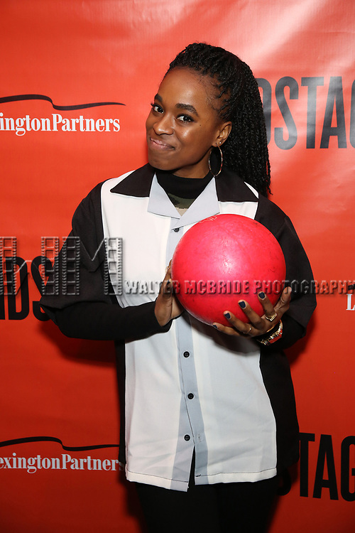 Kristolyn Lloyd attends the Second Stage Theatre 2018 Bowling Classic at Lucky Strike  on February 12, 2018 in New York City.