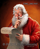 Marcello, CHRISTMAS SANTA, SNOWMAN, WEIHNACHTSMÄNNER, SCHNEEMÄNNER, PAPÁ NOEL, MUÑECOS DE NIEVE, paintings+++++,ITMCXM1948,#X#