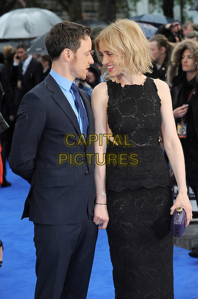 LONDON, ENGLAND - MAY 12:  James McAvoy, Anne-Marie Duff attend the UK Premiere of X-Men: Days Of Future Past at the Odeon Leicester Square on May 12, 2014 in London, England<br /> CAP/BEL<br /> &copy;Tom Belcher/Capital Pictures