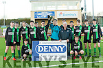 Fenit Samphires winners of the Munster Youth Cup Kerry Area Final against Listowel Celtic at Mounthawk Park on Saturday