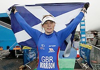 16 JUN 2007 - EDINBURGH, GBR- Catriona Morrison (GBR) takes the Elite Womens title at the European Duathlon Championships .(PHOTO (C) NIGEL FARROW)