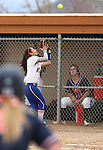 Wildcats' Gabriella Canibeyaz makes a play against Snow College at Edmonds Sports Complex in Carson City, Nev., on Friday, March 20, 2015. <br /> Photo by Cathleen Allison