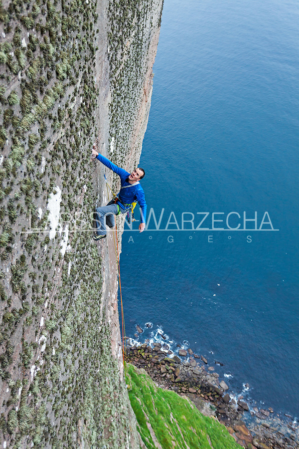Dave Macleod on the Longhope Route Direct
