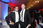 Cardiff Blues - British Lions dinner at Cottrell Park.<br /> Paul Tambini &amp; Tom Shanklin.<br /> 12.09.13<br /> <br /> &copy;Steve Pope-SPORTINGWALES