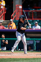 Akron RubberDucks Connor Marabell (16) at bat during an Eastern League game against the Erie SeaWolves on June 2, 2019 at UPMC Park in Erie, Pennsylvania.  Erie defeated Akron 8-5 in eleven innings of the second game of a doubleheader.  (Mike Janes/Four Seam Images)