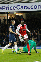during the Sky Bet League 1 match between Southend United and Fleetwood Town at Roots Hall, Southend, England on 13 January 2018. Photo by Carlton Myrie.