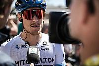 Matteo Trentin (ITA/Mitchelton-Scott)<br /> <br /> Stage 5: Saint-Dié-des-Vosges to Colmar (175km)<br /> 106th Tour de France 2019 (2.UWT)<br /> <br /> ©kramon