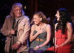 Martin Charnin, Tiffan Borelli and Jennifer Apple perform a preview of 'Something Funny's Going On!'  at 54 Below on October 23, 2013 in New York City.