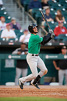 Norfolk Tides Jack Reinheimer (3) at bat during an International League game against the Buffalo Bisons on June 22, 2019 at Sahlen Field in Buffalo, New York.  Buffalo defeated Norfolk 3-0.  (Mike Janes/Four Seam Images)