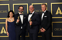 09 February 2020 - Hollywood, California -     Andrew Buckland, Michael McCusker, Julia Louis-Dreyfus, Will Ferrel attend the 92nd Annual Academy Awards presented by the Academy of Motion Picture Arts and Sciences held at Hollywood & Highland Center. Photo Credit: Theresa Shirriff/AdMedia