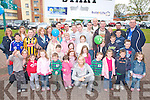 The Den presenter Emma O'Driscoll with all the kids and adults at the start of the Quality Hotel charity walk on Sunday    Copyright Kerry's Eye 2008