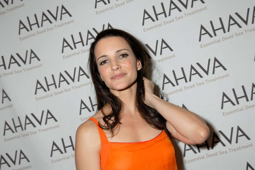 Kristin Davis at Ahava's spokesperson launch event.Top of the Rock, Rockefeller Center.9/18/07