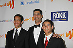 Jarrett Barrios - GLAAD President and sons at the 22nd Annual Glaad Media Awards honoring Ricky Martin (GH) & Russell Simmons on March 19, 2011 at the New York Marriott Marquis, New York City, New York. (Photo by Sue Coflin/Max Photos)