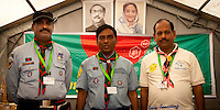 Bangladesh Headquarters with the CMT in the middle. Photo: André Jörg/ Scouterna