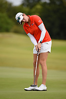 Emma Talley (USA) watches her putt on 9 during the round 2 of the Volunteers of America Texas Classic, the Old American Golf Club, The Colony, Texas, USA. 10/4/2019.<br /> Picture: Golffile | Ken Murray<br /> <br /> <br /> All photo usage must carry mandatory copyright credit (© Golffile | Ken Murray)