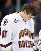 Kyle Kucharski (Boston College - Saugus, MA) - The Boston College Eagles defeated the Miami University Redhawks 4-0 in the 2007 NCAA Northeast Regional Final on Sunday, March 25, 2007 at the Verizon Wireless Arena in Manchester, New Hampshire.