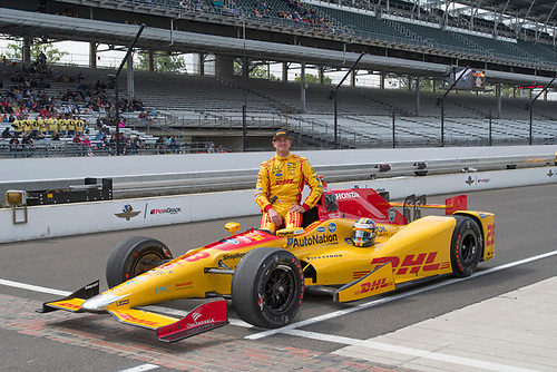 21-22 May, 2016, Indianapolis, Indiana, USA<br /> Ryan Hunter-Reay qualifying photo<br /> ©2016, Geoffrey M. Miller, LAT Photo USA