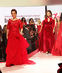 As The World Turns' Lea Salonga & Kathy Ireland - American Heart Association's Go Red for Women Red Dress Collection 2018 presented by Macy's on February 8, 2018 at Hammerstein Ballroom, New York City, New York  (Photo by Sue Coflin/Max Photo)