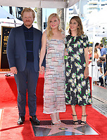LOS ANGELES, CA. August 29, 2019: Jesse Plemons, Kirsten Dunst & Sofia Coppola at the Hollywood Walk of Fame Star Ceremony honoring Kirsten Dunst.<br /> Pictures: Paul Smith/Featureflash
