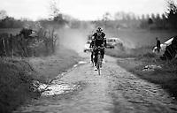 Matt Brammeier (IRL/Dimension Data) during recon of the 114th Paris - Roubaix 2016