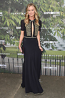 Cressida Bonas<br /> arrives for the Serpentine Gallery Summer Party 2016, Hyde Park, London.<br /> <br /> <br /> ©Ash Knotek  D3138  06/07/2016