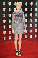 Michelle Williams<br /> at the 2017 BAFTA Film Awards held at The Royal Albert Hall, London.<br /> <br /> <br /> ©Ash Knotek  D3225  12/02/2017