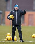 16.3.2018: Rangers training:<br /> Graeme Murty