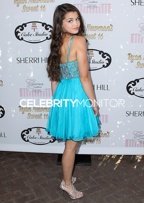 HOLLYWOOD, LOS ANGELES, CA, USA - APRIL 27: Paris Berelc at Ryan Newman's 'Glitz and Glam' Sweet 16 Birthday Party held at Emerson Theatre on April 27, 2014 in Hollywood, Los Angeles, California, United States. (Photo by Xavier Collin/Celebrity Monitor)