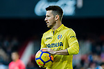 Antonio Rukavina of Villarreal CF in action during the La Liga 2017-18 match between Valencia CF and Villarreal CF at Estadio de Mestalla on 23 December 2017 in Valencia, Spain. Photo by Maria Jose Segovia Carmona / Power Sport Images