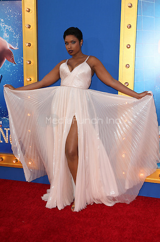 "Los Angeles, CA - DECEMBER 03: Jennifer Hudson, At Premiere Of Universal Pictures' ""Sing"" At Pacific Theatres at the Microsoft Theater, California on December 03, 2016. Credit: Faye Sadou/MediaPunch"