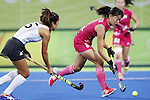 Ayaka Nishimura (JPN),<br /> AUGUST 8, 2016 - Hockey : <br /> Women's Pool Match <br /> between Japan Women's 0-4 Argentina Women's <br /> at Olympic Hockey Centre <br /> during the Rio 2016 Olympic Games in Rio de Janeiro, Brazil. <br /> (Photo by Yusuke Nakanishi/AFLO SPORT)