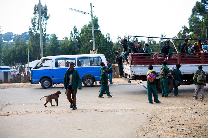 Addis Ababa, Ethiopia on  November 24-25, 2008. Photo by Jasmin Shah.