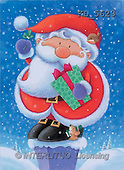 Interlitho, Peter, CHRISTMAS SANTA, SNOWMAN, paintings, santa, chimney, mouse(KL5623,#X#)