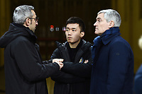 Steven Zhang-Alessandro Antonello<br /> Milano 19-1-2019 Giuseppe Meazza stadium Football Serie A 2018/2019 Inter - Sassuolo <br /> Foto Image Sport / Insidefoto