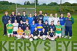 In training the Kerry Ladies Senior Football team  for the Munster Senior Ladies Championship Final, at the North Campus ITT Tralee on Wednesday evening. Front l-r: Steffi Corkery, Deirdre Corridan, Bernie Breen (capt), Sarah Houlihan and Laura O'Sullivan. 2nd row l-r: Aisling Leonard, Denise Hallissey, Linda Cronin, Louise Ni? Mhuircheartaigh, Patrice Dennehy, Mags O'Donoghue,Caroline Reen, Gina Crowley and Marie Quirke. Back l-r: Connie O'Connor (selector), Loretta Maher, Aoife Lyons, Lorraine Scanlon, Edel Murphy, Megan O'Connell, Seamus Moriarty (selector), Aislinn Desmond, Breda Lane, Louise Galvin, Joanne Brosnan and William O'Sullivan (Manager).......