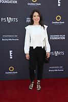 LOS ANGELES - OCT 8:  Marla Sokoloff at the P.S. ARTS' Express Yourself 2017 at the Barker Hanger on October 8, 2017 in Santa Monica, CA