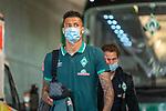 Ankunft am Stadion, Davie Selke  (SV Werder Bremen #09)<br /> <br /> <br /> Sport: nphgm001: Fussball: 1. Bundesliga: Saison 19/20: 33. Spieltag: 1. FSV Mainz 05 vs SV Werder Bremen 20.06.2020<br /> <br /> Foto: gumzmedia/nordphoto/POOL <br /> <br /> DFL regulations prohibit any use of photographs as image sequences and/or quasi-video.<br /> EDITORIAL USE ONLY<br /> National and international News-Agencies OUT.