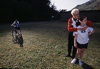 A family that is effected by mountaintop removal mining.  The school where the children attended was closed as population dwindled as mine expansion effects the size of communities.