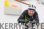 Tommy Sheehy from Ballyroe is planning two big cycles this year to raise funds for Enable Ireland Kerry Services.