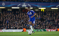 Mikel John Obi of Chelsea in action during the UEFA Champions League Round of 16 2nd leg match between Chelsea and PSG at Stamford Bridge, London, England on 9 March 2016. Photo by Andy Rowland.