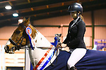 Stapleford Abbotts. United Kingdom. 03 November 2019. Class 9. Unaffiliated Showjumping championship show. Brook Farm training centre. Stapleford Abbotts. Essex. United Kingdom. Credit Melody Fisher/Sport in Pictures.~ 03/11/2019.  MANDATORY Credit Melody Fisher/SIP photo agency - NO UNAUTHORISED USE - 07837 394578