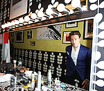 Erich Bergen backstage at Birdland