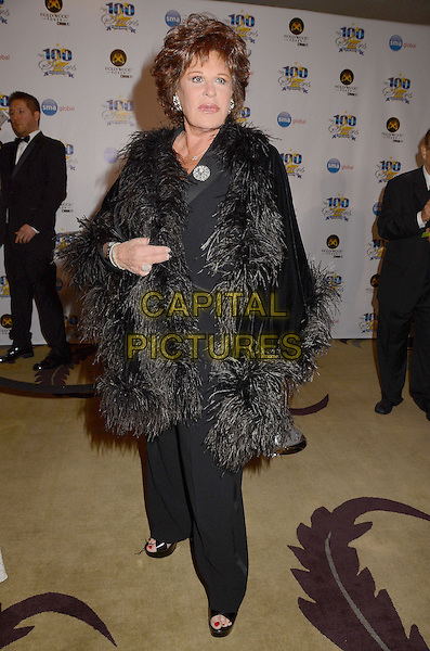 Lainie Kazan.23nd Annual Night of 100 Stars Awards Gala hosted by Norby Walters celebrating the 85th Annual Academy Awards held at the Beverly Hills Hotel, Beverly Hills, California, USA..February 24th, 2013.full length black suit  fur wrap.CAP/ADM/BT.©Birdie Thompson/AdMedia/Capital Pictures. Oscars